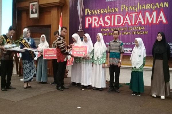 Balai Bahasa Jateng Gelar Prasidatama, Pemkab Pekalongan Berbahasa Terbaik