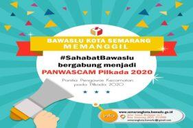 Ilustrasi perekrutan Panwascam Kota Semarang. (Bawaslu Kota Semarang)