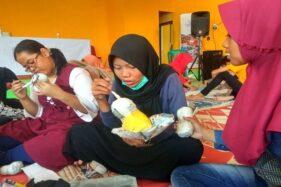 Sambut Hari Anak Sedunia, Anak-Anak di Semarang Bikin Boneka Kertas