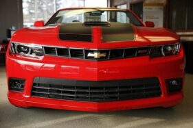 Chevrolet Camaro di Thurmont, Maryland, AS, 6 Februari 2014. (Reuters-Gary Cameron)