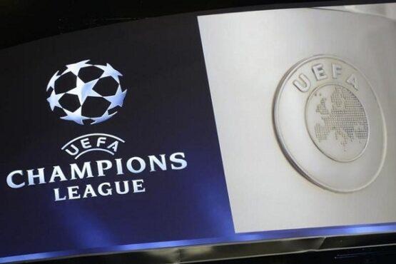 Logo Liga Champions. (Reuters)