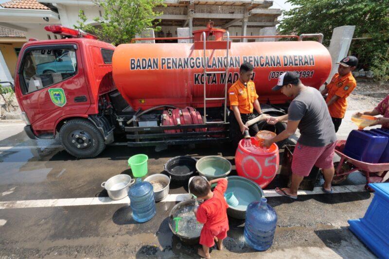 Tak Langganan PDAM, 79 Warga di Kota Madiun Krisis Air Bersih
