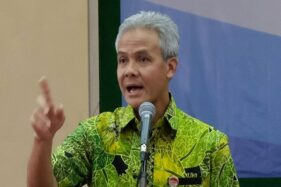 Gubernur Jawa Tengah Ganjar Pranowo. (Antara-Anis Efizudin)