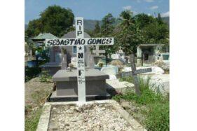 Makam Sebastiao Gomes, aktivis pro-kemerdekaan di Timor Timur. (Wikimedia.org)