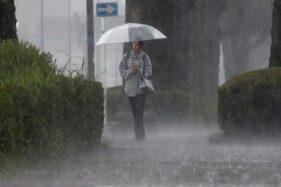Ilustrasi hujan. (Reuters)