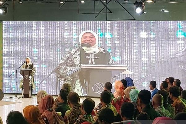 Ida Fauziyah ke Semarang, Jadi Menteri Bukan Calon Wagub
