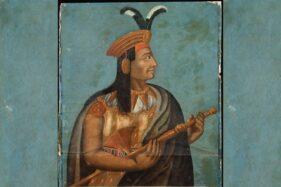 Raja Inka, Atahualpa, yang dieksekusi mati pasukan Spanyol. (Wikimedia.org)