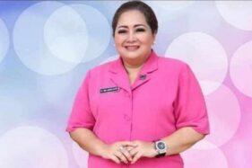 Istri Wakapolda Jateng Brigjen Pol. Ahmad Luthfi, Nurina Mulkiwatiy. (Istimewa)