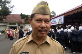Kepala Dinas Kesehatan Kabupaten Banyumas Sadiyanto. (Antara-Sumarwoto)