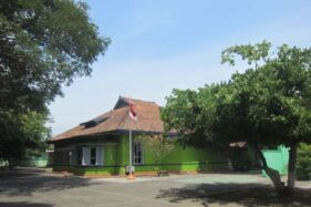 Kondisi kantor utama PTPN X Klaten, Kamis (14/11/2019). (Solopos-Ponco Suseno)
