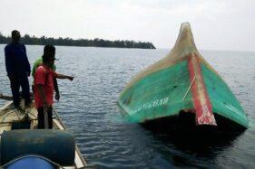 Misteri Kapal Terbalik Tanpa ABK di Karimunjawa Jadi Perhatian Polisi