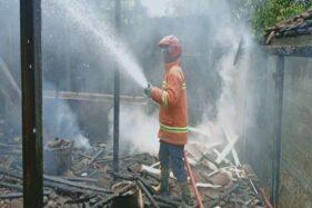 Kebakaran Hanguskan Dapur Rumah Warga Kalijambe Sragen