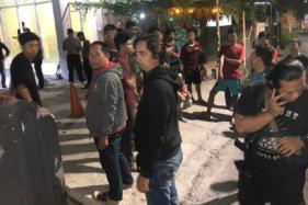 Asrama mahasiswa di Makassar diserang oleh OTK (Detik.com)