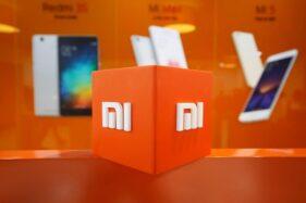 Logo Xiaomi. (Reuters)