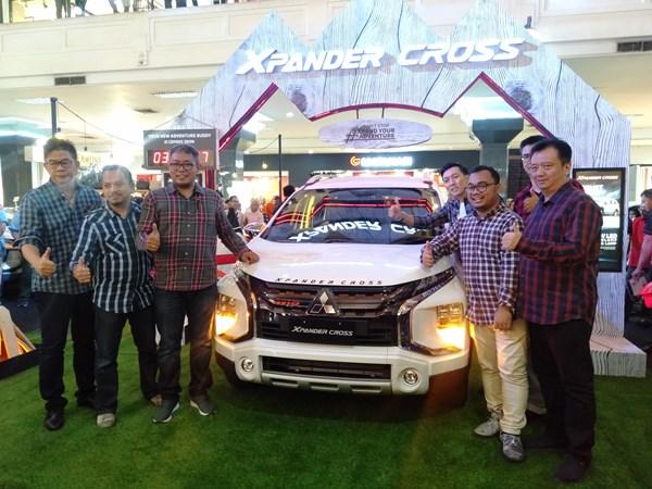 Mitsubishi Optimistis Xpander Cross Diterima Jateng