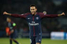 Pemain Paris Saint Germain (PSG), Neymar. (Reuters)