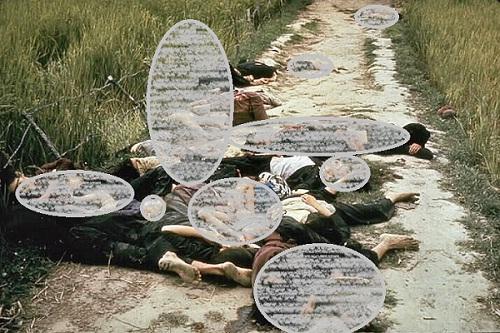 Dokumentasi Pembantaian Desa Son My. (Wikimedia.org)