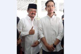 Achmad Purnomo (kiri) dan Gibran Rakabuming Raka. (Solopos-Mariyana Ricky P.D.)