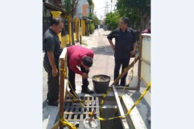 Temukan Ini, DPRD Solo Desak Tutup Drainase Jl. Sawo Karangasem Solo Dibongkar