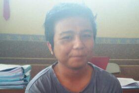 Sidik Nugraha, 25, pelaku teror pelemparan sperma di Taskmalaya, Jabar. (Detik.com/Istimewa)