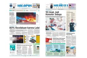 Harian Umum Solopos edisi Jumat (15/11/2019).