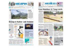 Harian Umum Solopos edisi Senin (18/11/2019).