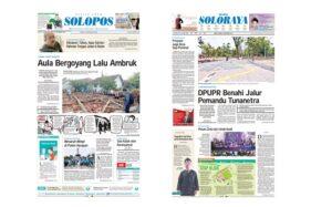Harian Umum Solopos edisi Kamis (21/11/2019).