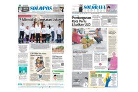 Harian Umum Solopos edisi Jumat (22/11/2019).