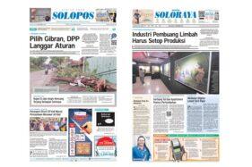 Harian Umum Solopos edisi Selasa (12/11/2019).