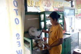 Warung Soto Sewu di Jl. Slamet Riyadi Sragen, tepatnya di Kampung Ringinanom, Sragen Kulon. (Solopos-Moh. Khodiq Duhri)