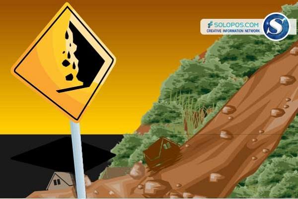 BNPB Sebut Hujan Jadi Penyebab Tanah Longsor di Nganjuk