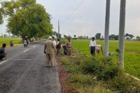 PLN Madiun Ancam Cabut Tiang Beton di Sawah Kaibon