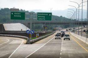 Jalan tol Trans Jawa ruas Semarang-Batang. (Bisnis-Dok.)