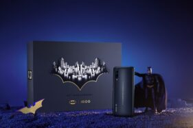 Vivo IQOO Pro 5G Batman Limited Edition. (Gsmarena.com)