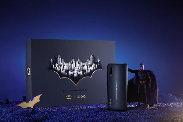 Rayakan 80 Tahun Batman, Vivo Rilis Ponsel Spesial