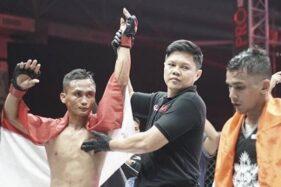 Mantap! Atlet Eagle Eyes Solo Juara Dunia MMA