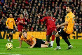 Pertandingan pekan ke-20 Liga Premier Inggris 2019-2020 antara Liverpool dan Wolverhampton Wanderers di Stadion Anfield, Liverpool, Inggris, Minggu (29/12/2019) malam WIB. (Reuters-Andrew Yates)