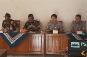 Sosialisasi BPJS Ketebagakerjaan kepada para perangkat desa se-Kecamatan Kebonagung di Balai Desa Tloogosih, Kecamatan Kebonagung, Kabupaten Demak, Selasa (3/12/2019). (Antara-Humas BPJS Ketebagakerjaan)