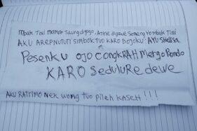 Ini Isi Surat Wasiat Suami Sheli yang Kerangkanya Ditemukan di Septic Tank