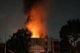 Ilustrasi kebakaran. (Antara)