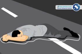 Motor dan Truk Kecelakaan di Paldaplang Sragen, 1 Orang Meninggal