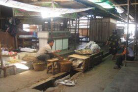 Ilustrasi pedagang di pasar tradisional. (Solopos-dok)
