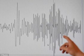 Gempa M 4,3 Menggoyang Pacitan Pagi Ini