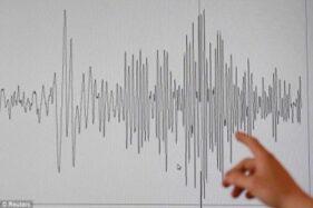 Ilustrasi skala gempa bumi. (Solopos-dok)