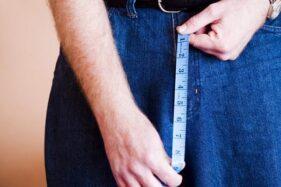 Ilustrasi ukuran alat vital. (Pictagram)