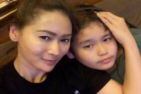 Inul Daratista dan anaknya. (Instagram-@inul.d)