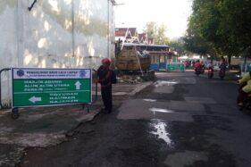 Jalan Supit Urang Solo. (Twitter)