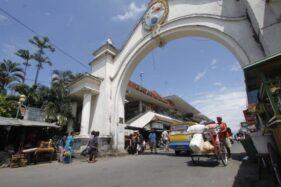 Musim Hujan, Pembangunan Pasar Klewer Timur Dihantui Lumpur