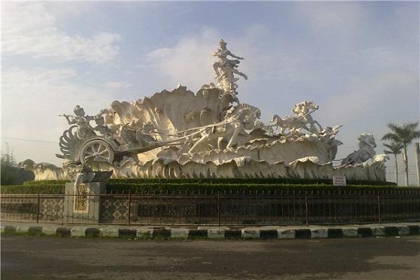 Patung Pandawa di Solobaru. (Solopos-dok)