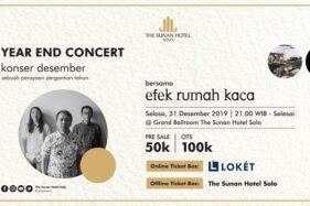 Malam Tahun Baru, The Sunan Hotel Solo Hadirkan Efek Rumah Kaca